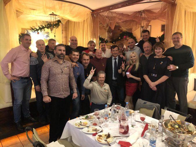 """Регбольный клубу """"Атланты Невы"""" справили свое 20-и летие!"""
